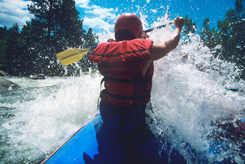 Kayak in Val di Non - Trentino